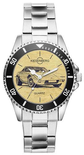 Für Lancia Stratos Oldtimer Fan Armbanduhr 6392