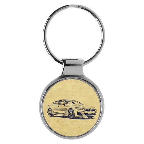Für BMW 8er G16 Coupe Fan Schlüsselanhänger A-4618