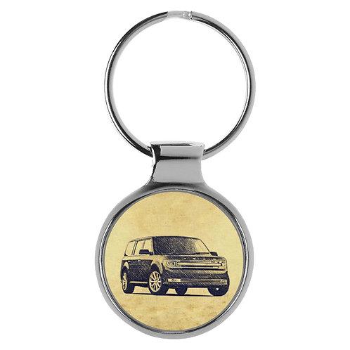 Für Ford Flex Modellpflege Fan Schlüsselanhänger A-5697