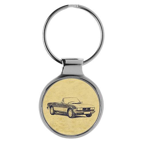 Für Peugeot 504 Cabrio Fan Schlüsselanhänger A-4387