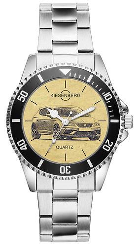 Für Seat Leon Cupra R seit 2017 Fan Armbanduhr 4436