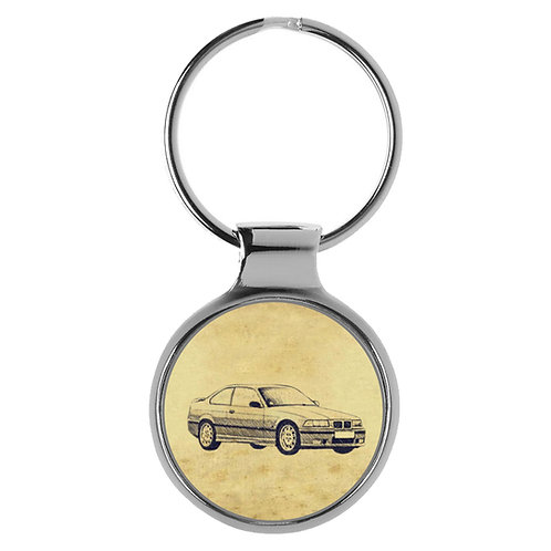 Für BMW E36 M3 Coupe Fan Schlüsselanhänger A-5724