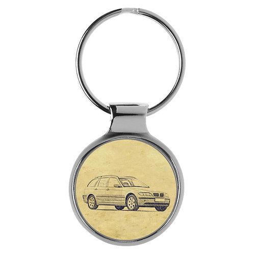 Für BMW E46 Touring Modellpflege Fan Schlüsselanhänger A-4816