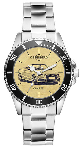 Für Audi A3 8V Cabrio S-Line Fan Armbanduhr 5089