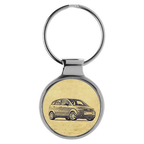 Für Audi A2 Fan Schlüsselanhänger A-5080