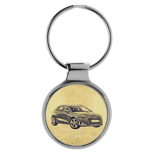 Für Audi A3 8Y Fan Schlüsselanhänger A-5622