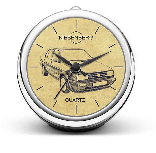 Für VW Jetta II Modellpflege Fan Tischuhr T-5012