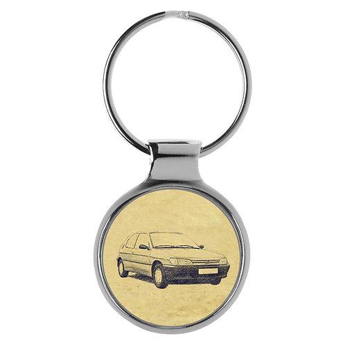 Für Peugeot 306 Fan Schlüsselanhänger A-4358