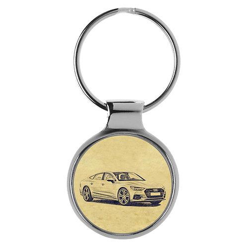 Für Audi A7 C8 Sportback Fan Schlüsselanhänger A-5132