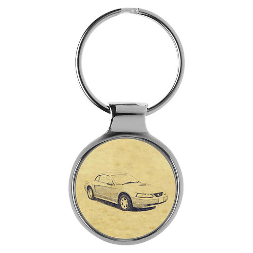 Für Ford Mustang IV Modellpflege Fan Schlüsselanhänger A-4934