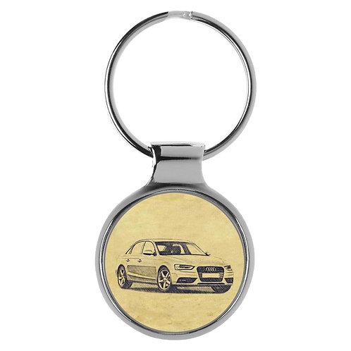 Für Audi A4 B8 Limousine Fan Schlüsselanhänger A-5116