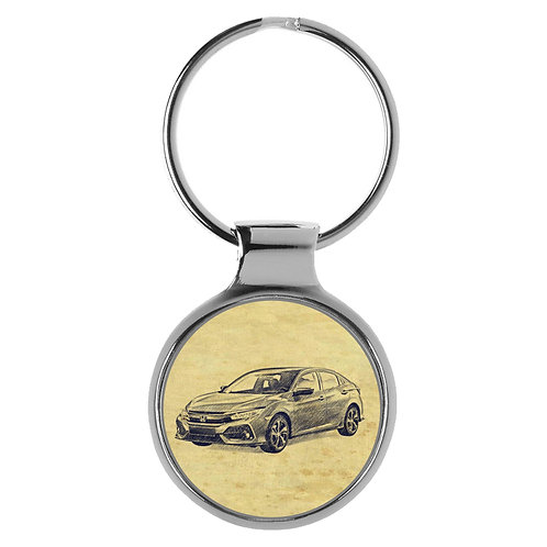 Für Honda Civic Fan Schlüsselanhänger A-20717
