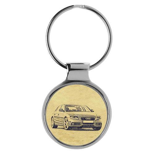 Für Audi A4 B8 Limousine Fan Schlüsselanhänger A-5117