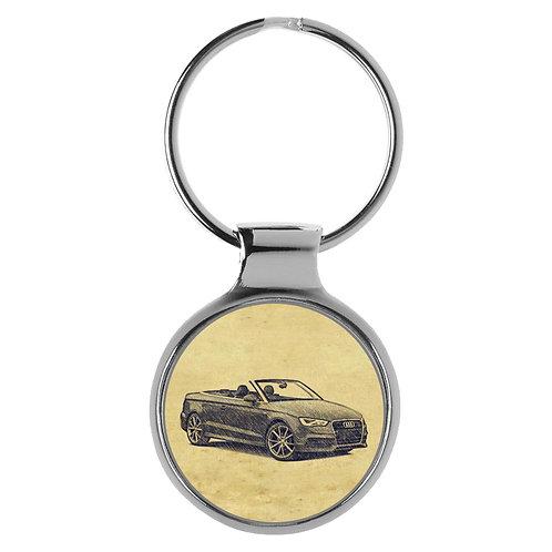 Für Audi A3 8V Cabrio Fan Schlüsselanhänger A-5088
