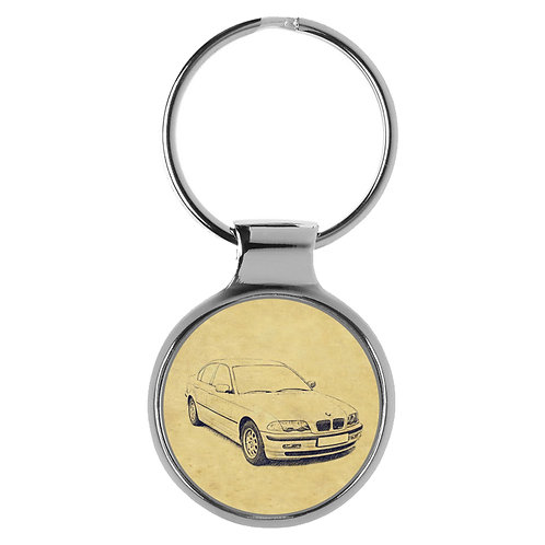 Für BMW E46 Limousine Fan Schlüsselanhänger A-4256