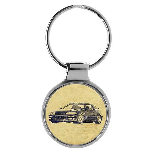 Für Honda CRX 1.6 Fan Schlüsselanhänger A-20716