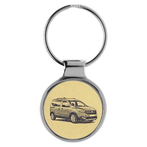 Für Dacia Dokker Fan Schlüsselanhänger A-4129