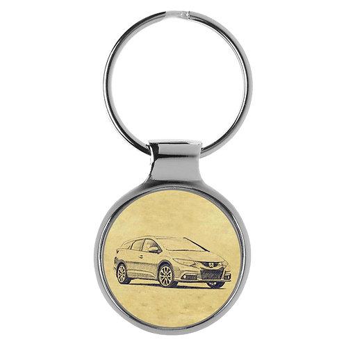 Für Honda Civic Tourer ab 2013 Fan Schlüsselanhänger A-5305