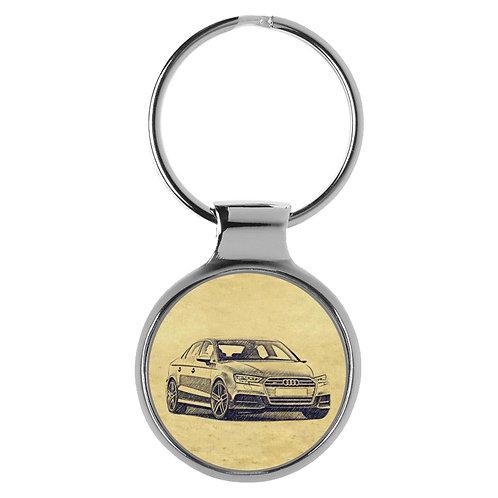 Für Audi S3 8V Limousine Fan Schlüsselanhänger A-5097