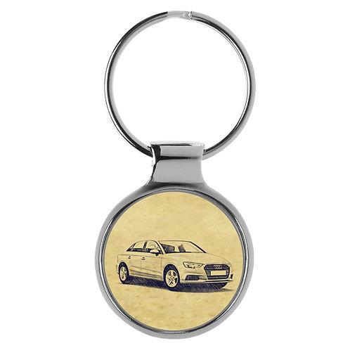 Für Audi A3 8V Limousine Fan Schlüsselanhänger A-5092