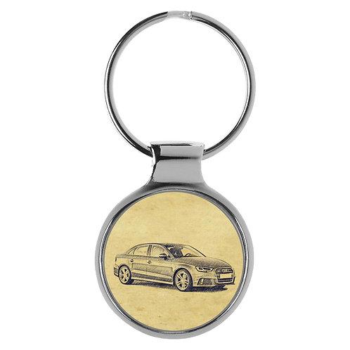 Für Audi A3 8V Limousine Sport Fan Schlüsselanhänger A-5091