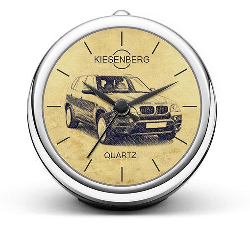 Für BMW X5 E70 Modellpflege  Fan Tischuhr T-5438