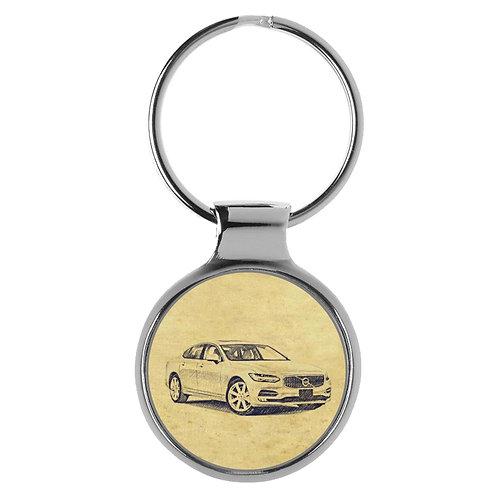 Für Volvo S90 Fan Schlüsselanhänger A-4765