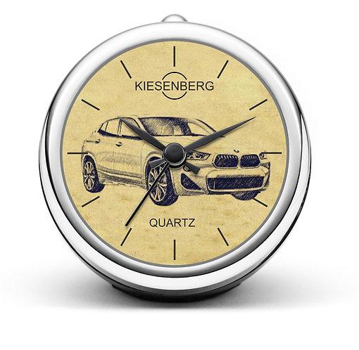 Für BMW X2 F39 Fan Tischuhr T-4623