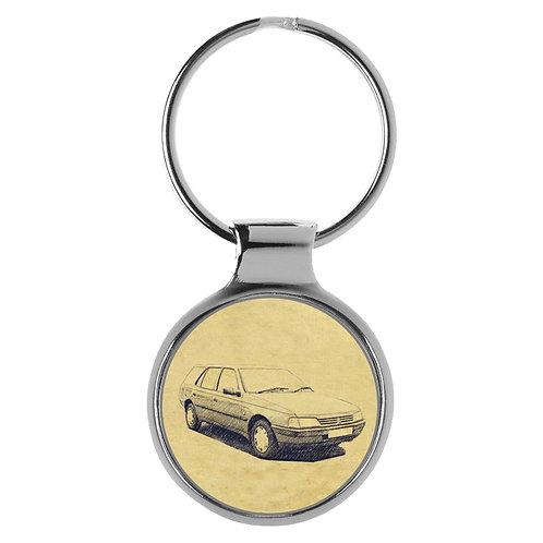 Für Peugeot 405 Kombi Fan Schlüsselanhänger A-4355