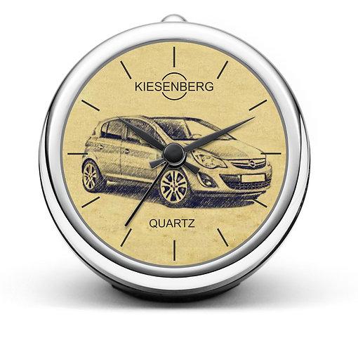 Für Opel Corsa D Modellpflege Fan Tischuhr T-4646