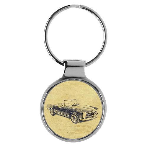 Für Mercedes SL Pagode Fan Schlüsselanhänger A-20604