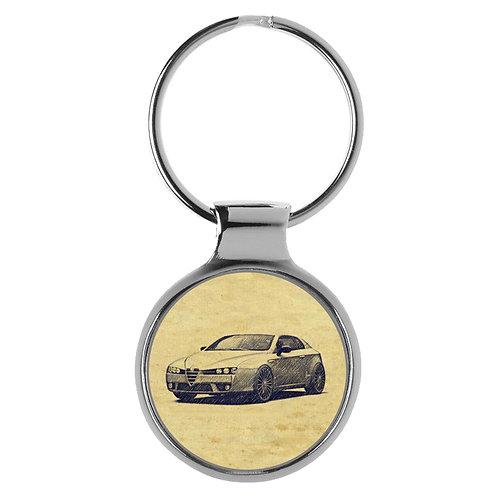 Für Alfa Romeo Brera Fan Schlüsselanhänger A-20342