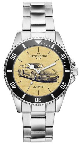Für Porsche Cayman 718 GT4 Fan Armbanduhr 5373