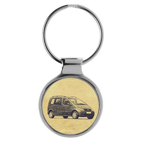 Für Mercedes Vaneo W414 Fan Schlüsselanhänger A-5248