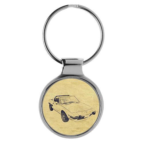 Für FIAT X 1/9 Fan Schlüsselanhänger A-4305