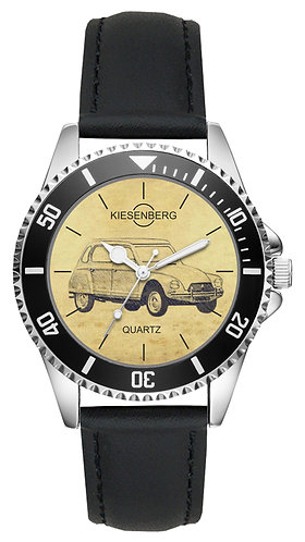 Für Citroen Dyane Fan Armbanduhr L-5587