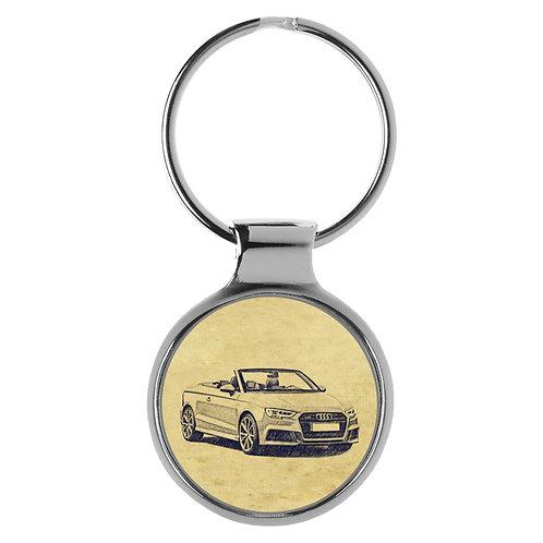 Für Audi A3 8V Cabrio S-Line Fan Schlüsselanhänger A-5089