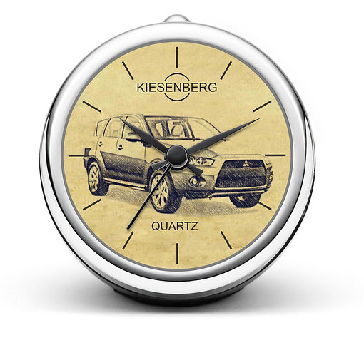 Für Mitsubishi Outlander II Modellpflege Fan Tischuhr T-4906