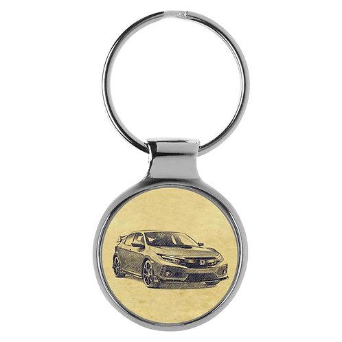 Für Honda Civic Type R Fan Schlüsselanhänger A-5199