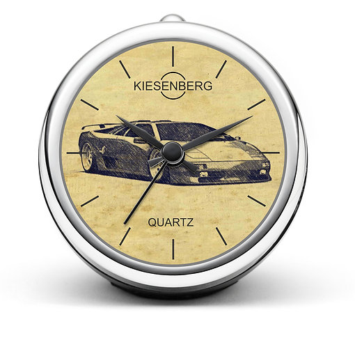 Für Lamborghini Diablo Fan Tischuhr T-6381