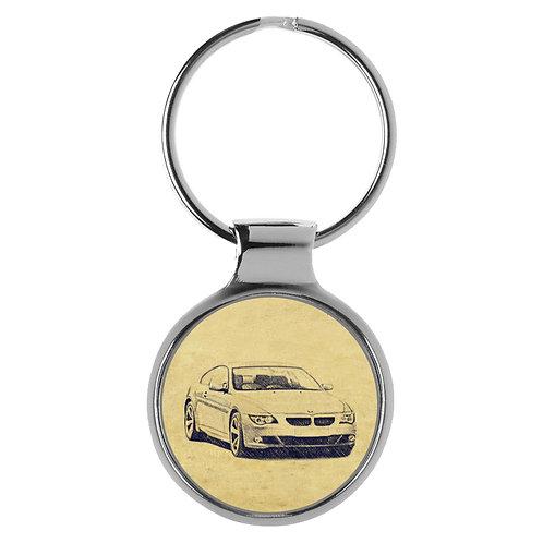 Für BMW E63 6er Coupe Modellpflege Fan Schlüsselanhänger A-4613