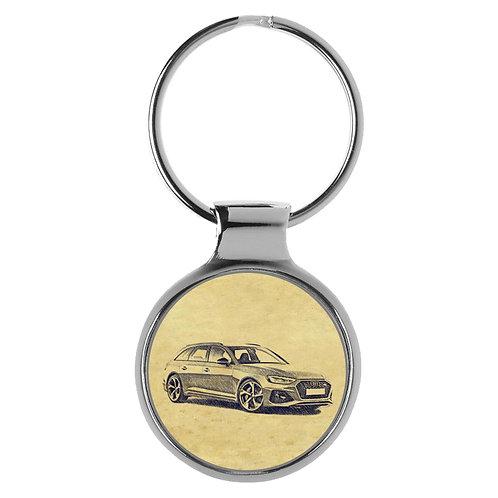 Für Audi RS4 B9 Modellpflege Fan Schlüsselanhänger A-5112