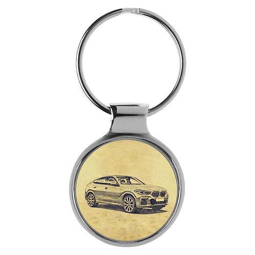 Für BMW X6 (G06) Fan Schlüsselanhänger A-5625