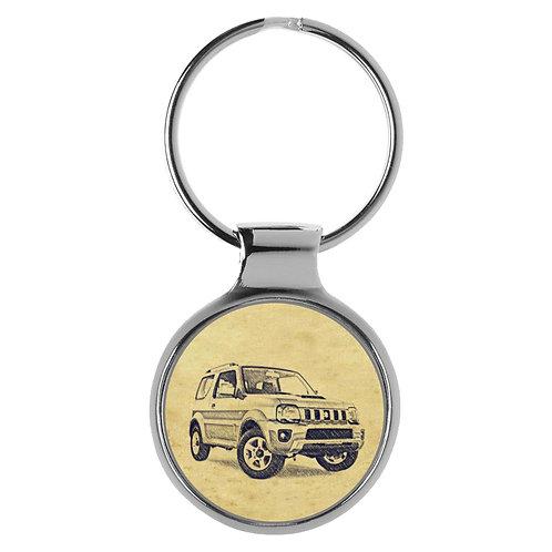Für Suzuki Jimny Modellpflege II Fan Schlüsselanhänger A-4823