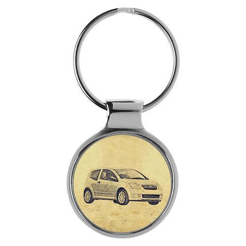Für Citroen C2 Fan Schlüsselanhänger A-5569