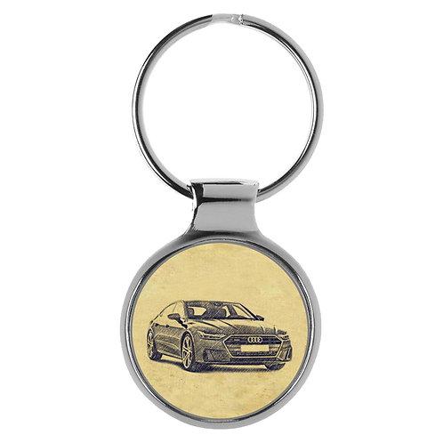 Für Audi A7 C8 Fan Schlüsselanhänger A-4430