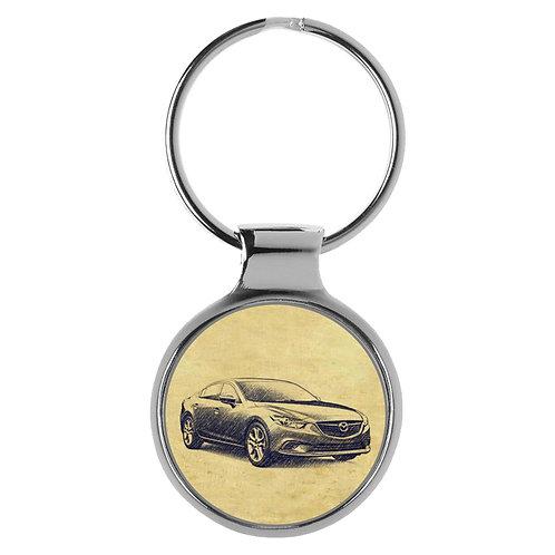 Für Mazda 6 III Fan Schlüsselanhänger A-4762