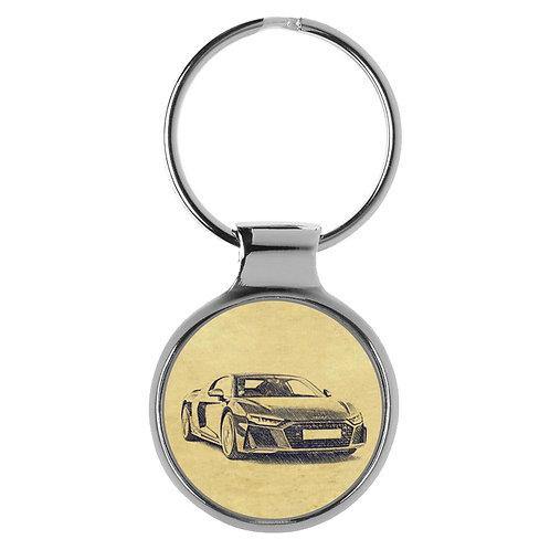 Für Audi R8 4S Coupe Modellpflege Fan Schlüsselanhänger A-5141