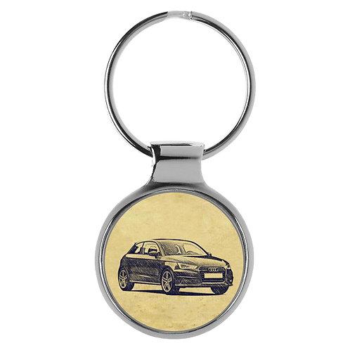 Für Audi A1 Modellpflege Fan Schlüsselanhänger A-5081