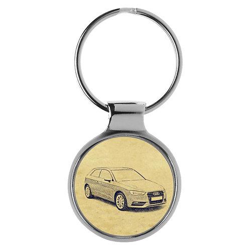 Für Audi A3 8V Fan Schlüsselanhänger A-5087